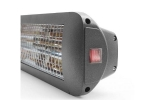 Infrarood warmtestraler 1400w low glare antraciet